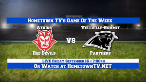 Atkins Red Devils vs Yellville Summit Panthers September 16 2016