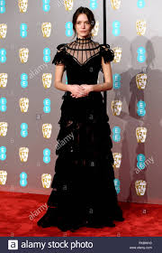 100 Mim Design Couture Stacy Martin Attending The 72nd British Academy Film Awards Held At