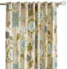 Thermalogic Curtains Home Depot by Herringbone 63 Inch Grommet Top Window Curtain Panel In Linen