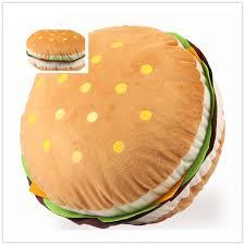 Sofa King Burger Hours by 36x18cm Cute Huge Hamburger Pillow Cushion Stuffed Throw Pillow
