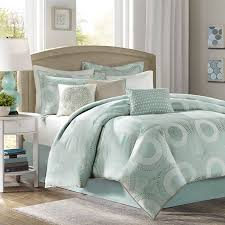 Bed Comforter Set by Aqua Green Bed Comforter Set Home Apparel