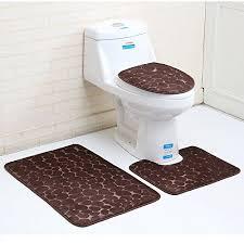 3 stück rutschfeste ständer badematten set atmungsaktivem memory schaum bad teppiche angenehm weiches wasser saugfähig wc badezimmer teppich