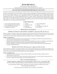 Excellent Accounting Resume Examples Combined With Samples Accountant You May Look For To
