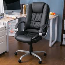 Merax Ergonomic PU Leather High Back Executive Office Chair Big Tall ... Amazoncom Aingoo Big And Tall Executive Office Chair Vintage Brown Alera Ravino Series Highback Swiveltilt Leather Best Unique Doblepiel Mayline Comfort 6446ag With Pivot Arms Lazboy Elbridge Center Shop For Vanbow Recling High Ofm In Vl685 Ld Products Star Proline Ii Deluxe Back Chairs Bonded Padded Flip Ergonomic Pu Task Titan