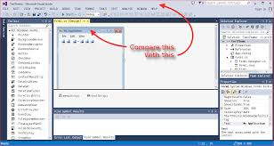C# - Give Application The Same Visual Appearance As Visual Studio ... 4 Ways To Create Drop Down Navigation In Sharepoint Maven How To Edit Or Disable Top Bar Links Social Status Redesigning Gitlabs Gitlab Float Pixelsmile Using The Zurb Foundation Drupalorg Jmenubar Can I Title Bar Menu Java Stack Overflow Header Settings Oshine Knowledge Base Hotel Advisor Wordpress Theme Top Ubuntu 1710 Windows Ask Html Part 1 Menu In 2 Main Do Remove An Icon From Panel Gnome Fallback Mode Change Menubar Prestashop 17 Youtube
