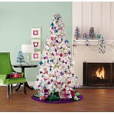 7 600 Clear Light Preston Pine White Christmas Tree 4