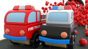 Colors For Children To Learn With Train Transporter Toy Dump Trucks ...