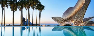 100 Infinity Swimming Terrace And Pool Overlooking The Sea Hotel Arts Barcelona