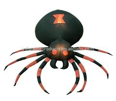 Airblown Inflatables Halloween Decorations by 50pcs Plastic Black Spider Halloween Decoration Festival Supplies