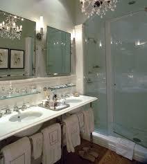 double vanity ideas transitional bathroom jessica lagrange