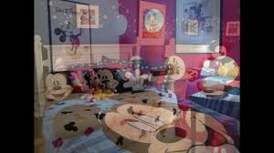 Mickey Mouse Bedroom Ideas by Mickey Mouse Bedroom Decor Youtube