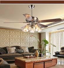 Ceiling Fan Light Living Room Antique Dining Fans 52inch