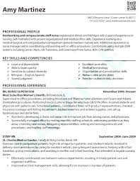 Sample Resume Registered Nurse For Manager Position New Nursing Examples With Clin