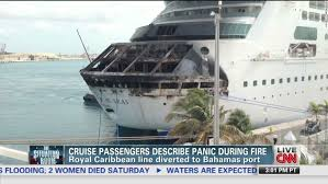 royal caribbean passengers flying home after fire cuts short