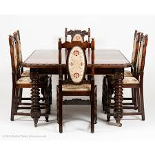 Set Of Six Antiquue Jacobean Style Solid Oak Dining Chairs ... Jacobean Style Ding Table And Six Chairs Set Of 8 Oak Lp1722 English Large Ref No 03869c Regent Antiques Jacoelizabethan Era 1900s Oak Ding Table With Leaf Antique Room Tables Awesome Pin On Fniture Tonawanda Woodworks Circa 1920s 6 Chairs Angelus Mfg Co Indoor Chair Elizabethan Pottery Details About Sideboard Sver Buffet Kitchen Hand Crafted Reclaimed Wood Farmhouse With Beautiful
