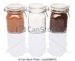 Coffee Chocolate Powder And Sugar