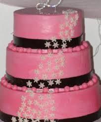 Desi s Dazzling Pink Wedding Cake