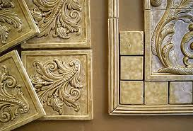 field tiles for decorative ceramic murals for kitchen bath and