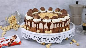 kinder bueno cheesecake ohne backen kuchen ohne backen no bake cake kühlschranktorten
