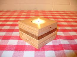 Nice Candleholders From Scrap Wood 7 Steps