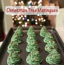 Christmas Tree Meringues Cookies by Smocked Auctions Blog Smocked Auctions