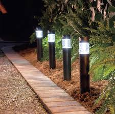 Halloween Pathway Lights Stakes by Solar Outdoor Lighting Ideas Improvements Blog