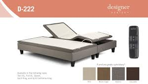 Leggett And Platt Adjustable Bed Remote Control by Leggett U0026 Platt Designer Series D222 Adjustable Bed Base