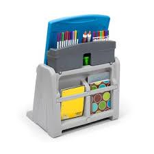 Buy Step2 Write Desk At by Step2 Flip U0026 Doodle Easel Desk U0026 Stool Null