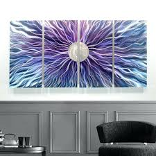 Wall Decor Stickers Target by Blue Metal Wall Art Design U2013 Musingsofamodernhippie