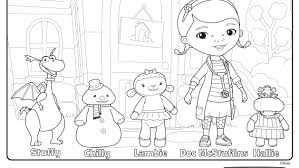Doc Mcstuffins And Friends At The Clinic