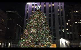 Rockefeller Plaza Christmas Tree Location by Rockefeller Center Christmas Tree Ice Skating Decoration 2015