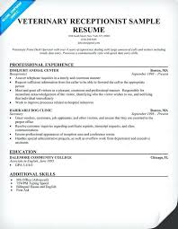 Receptionist Resume Skills For Retail Sales A Sample