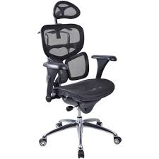 Work Pro Office Furniture by Workpro Executive Chair With Arms And Headrest Alloy Base Mesh
