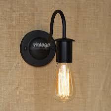 vintage style wall light loft iron simple wall light indoor