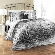 Blue Tie Dye Bedding by Amazon Com Lush Decor 5 Piece Pebble Creek Tie Dye Comforter Set
