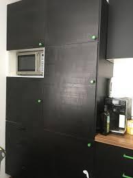 ikea küche faktum schwarz grün in 1220 donaustadt für 450