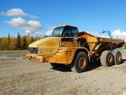100 Articulating Truck 2002 CAT 735 Dump 89000 LETZRING INC