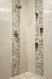bathroom tile ideas porcelain tile shower with glass and slate