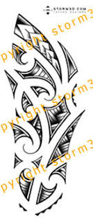 Maori Tattoo Flash Arm Forearm Designs
