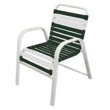 Stack Sling Patio Chair Tan by Stackable Outdoor Dining Chairs Patio Chairs The Home Depot
