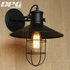 industrial wall sconce country loft antique lights american