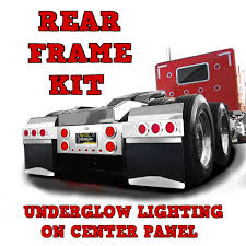 100 Truck Accessories.com Rear Frame Kit With LED Lights 3 Piece