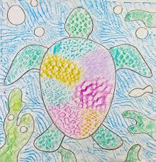 Kindergarten Winter Art Projects Fresh Texture Turtles Project Teacher Sample We Used