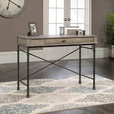 Sauder Edge Water Writing Desk by Sauder Canal Street Northern Oak Console Desk Walmart Com