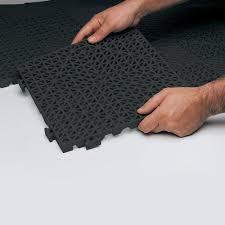 cactus mat 2557 cthd poly lok 12 x 12 black heavy duty vinyl