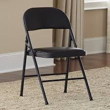 cosco vinyl folding chair set of 4 walmart com