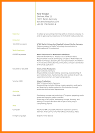 Cv Resume Sample Filetype Promo Modeling Examples No Template