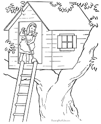 House Coloring Pages Sheets And Pictures