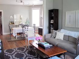 Stylish Ideas Small Living And Dining Room Decorating A