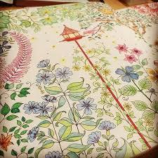 Hanyu Coloring Book Secret Garden 40 Pages English